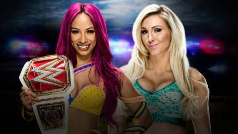 Sasha Banks vs. Charlotte in a 30-minute Ironman match for the Raw Women's Championship