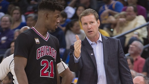 Fred Hoiberg, Chicago Bulls: D