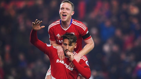 Sunday: Southampton vs. Middlesbrough