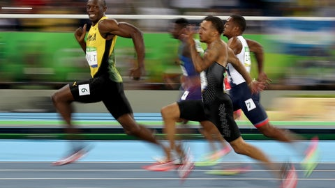 This photo of Usain Bolt