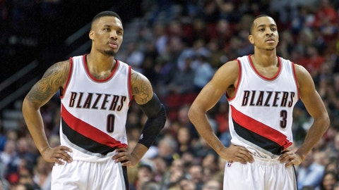 The Blazers taking a step back