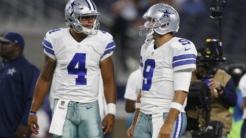 NFC #1 seed: Dallas Cowboys (12-2)