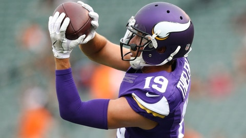 WR Adam Thielen, Vikings