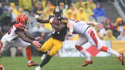 October 22: Cincinnati Bengals at Pittsburgh Steelers, 1 p.m. ET