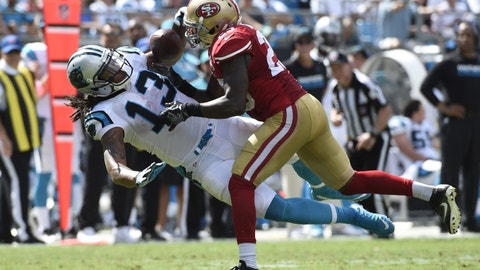 September 10: Carolina Panthers at San Francisco 49ers, 4:25 p.m. ET