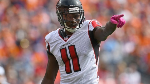Wide receiver: Julio Jones, Atlanta Falcons