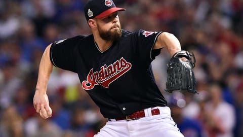 Indians: Corey Kluber