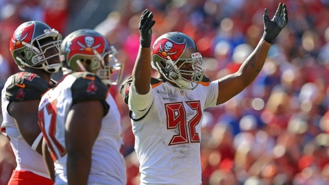 Tampa Bay Buccaneers: William Gholston, DE