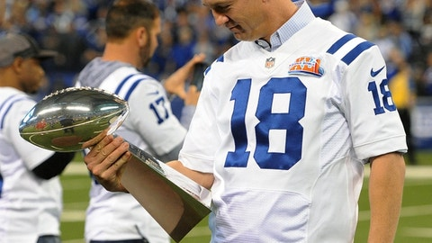 Indianapolis Colts: QB Peyton Manning, first round (1 overall), 1998