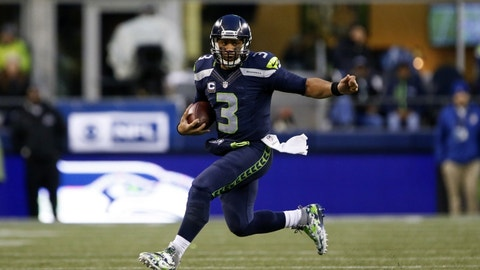 Russell Wilson is fully healthy
