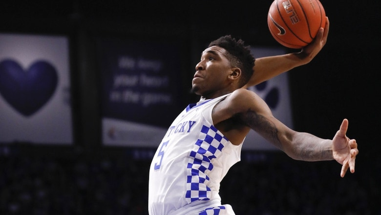 Hornets select high-scoring Kentucky guard Malik Monk with No. 11 pick