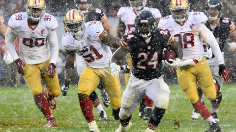 December 3: San Francisco 49ers at Chicago Bears, 1 p.m. ET