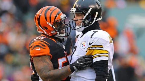 December 4: Pittsburgh Steelers at Cincinnati Bengals, 8:30 p.m. ET