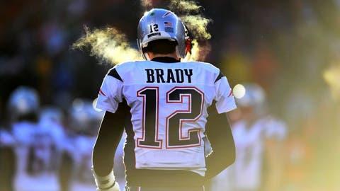 Tom Brady, QB, Patriots (thigh): Active