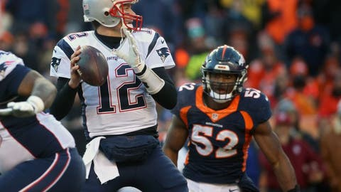 Tom Brady was suspended the first four games of the NFL season