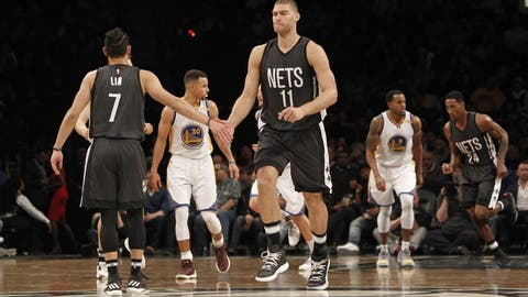 Brooklyn Nets (previous ranking: 30)