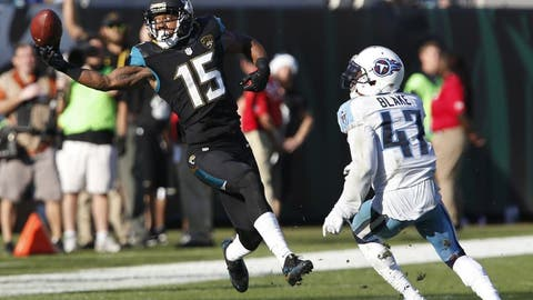 September 17: Tennessee Titans at Jacksonville Jaguars, 1 p.m. ET