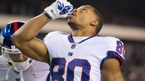 Giants cut Victor Cruz, Rashad Jennings to free up cap space