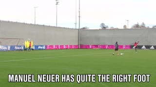 Goalkeeper Manuel Neuer doesn't just save goals