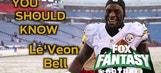 Week 14 Fantasy Football: Le'Veon Bell's huge week and season