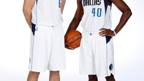 Andrew Bogut and Harrison Barnes ended up in Dallas as salary cap casualties following the signing of Kevin Durant by the Warriors