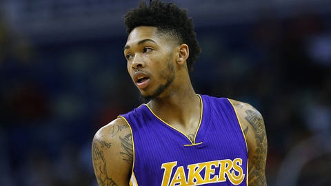 Brandon Ingram started at point guard and was a minus-45