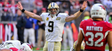 Brees leads Saints past Cardinals in high-scoring win