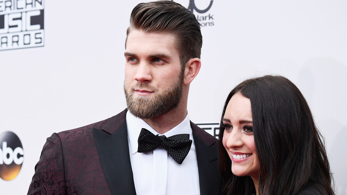 Photos Bryce Harper Got Married Over The Weekend Fox Sports