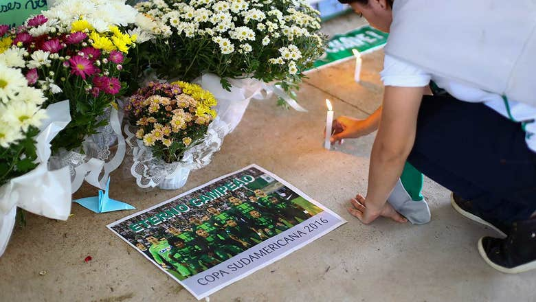 7. Tragedy strikes Brazilian club Chapecoense