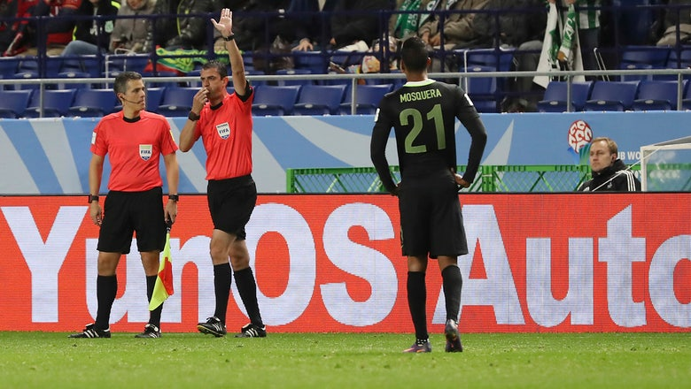 Club World Cup referee uses video replay for first time, awards penalty kick