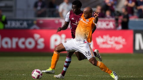 Collen Warner, Houston Dynamo