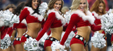PHOTOS: Dallas Cowboys cheerleaders Christmas halftime