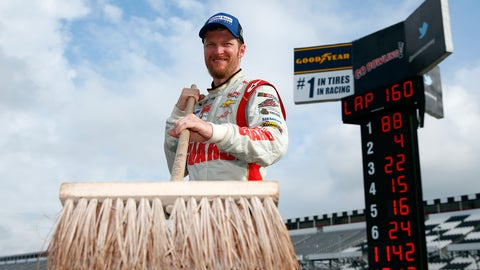 Dale Earnhardt Jr. back up and running