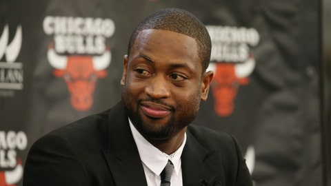 Dwyane Wade left the Miami Heat after 13 seasons to join the Bulls as a free agent
