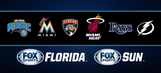 FOX Sports Florida & FOX Sports Sun team schedules