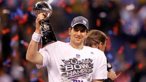 Tom Brady vs. Eli Manning  (Super Bowl)