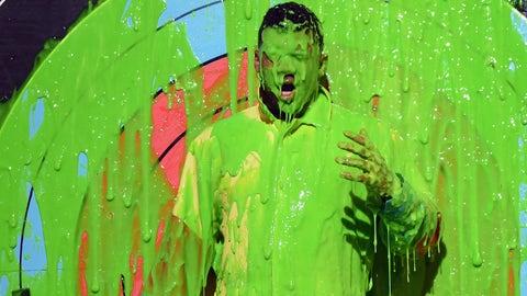 Nickelodeon slime (Hey, Russell Wilson)