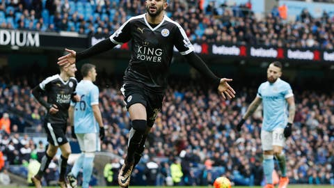 Feb. 6 - Man City 1, Leicester City 3