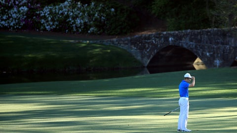 Spieth's Masters collapse