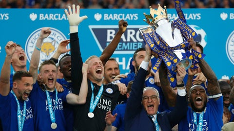 Leicester winning the Premier League