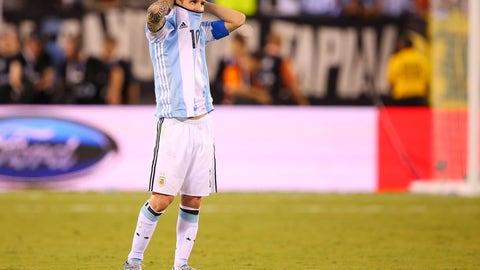 Lionel Messi's international retirement