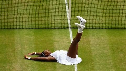 Serena gets No. 22
