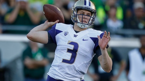 Jake Browning can air it out