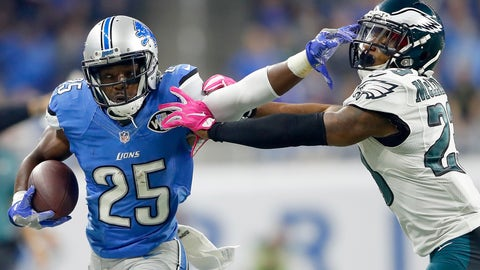 Theo Riddick, RB, Lions (wrist): Questionable