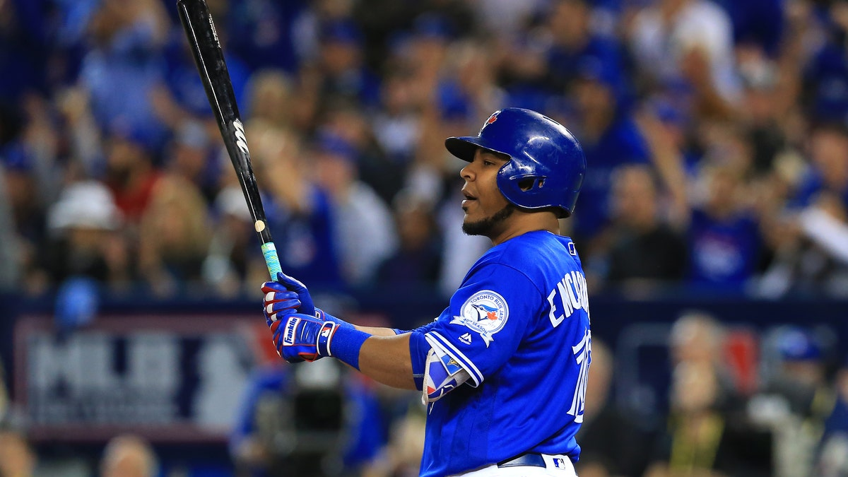 The Indians declared that they're still the AL's team to beat by signing Edwin Encarnacion