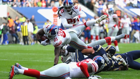 November 5: Los Angeles Rams at New York Giants, 1 p.m. ET