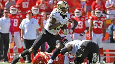 Michael Thomas, WR, Saints (5th last week)