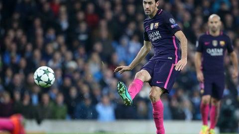 Catalonia central midfield: Sergio Busquets