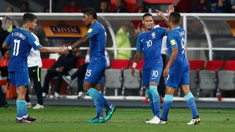 Brazil: 2 (Previously No. 2)