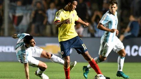 Colombia: 6 (Previously No. 6)